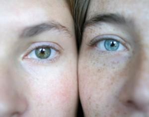 occhi in salute