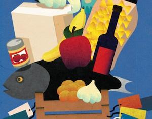 particolare copertina libro alimentazione/Pappagallo