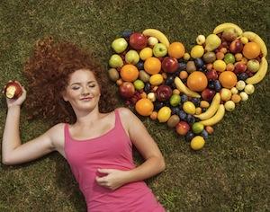 estate, alimentazione sana
