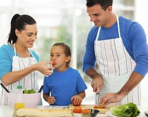 alimentazione corretta e bambini