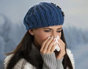 perché raffreddore peggiora in inverno?