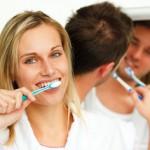 denti puliti, denti sani