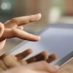touch screen attiva il cervello