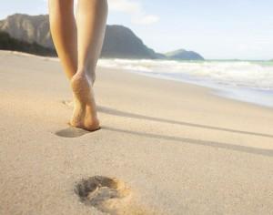 tallonite, occhio a camminare sulla sabbia