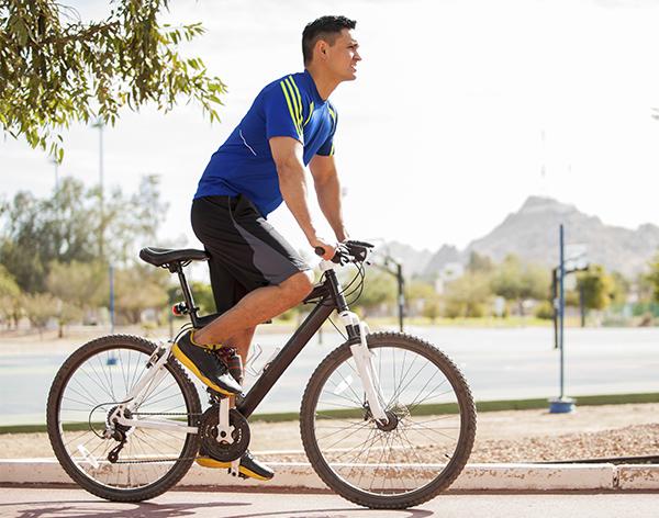 andare bicicletta prostata