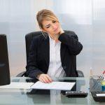 Alla scrivania proteggi il tuo collo