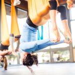 Antigravity yoga, attività fisica in assenza di peso