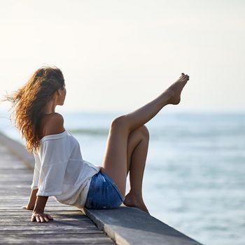 Gambe gonfie, 5 consigli per un weekend di benessere