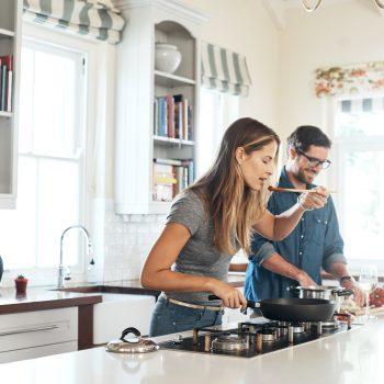 Cucinare sano, da single o in coppia