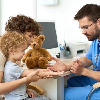 bambini esami del sangue