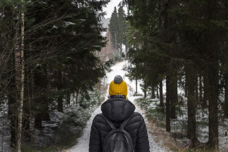 camminare freddo inverno