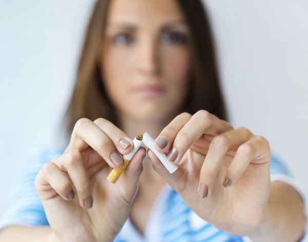 Cancro al seno ma non smettere di fumare